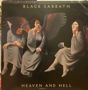BLACK SABBATH Heaven And Hell LP WARNER BROTHERS BSK 3372 rare OG VG+