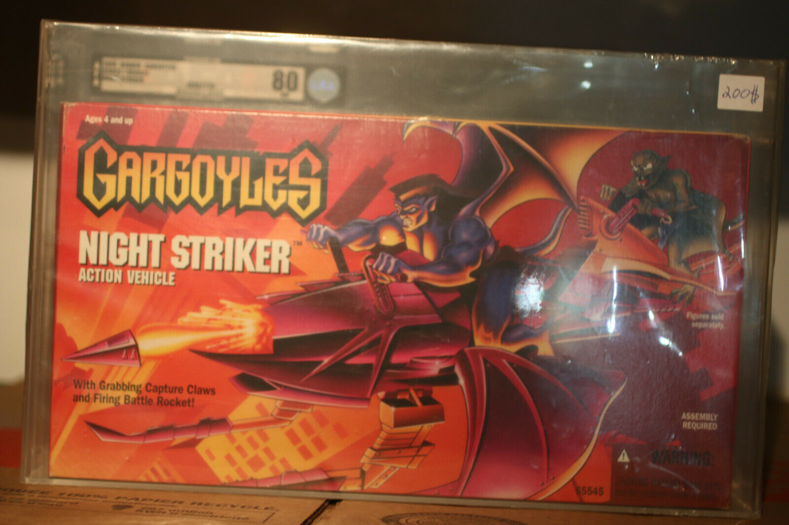 Para tu estilo de juego a los precios más baratos. Vehículo de Acción Striker 1995 gárgolas Noche en Caja Caja Caja Sellada AFA 80 casi como nuevo  Seleccione de las marcas más nuevas como