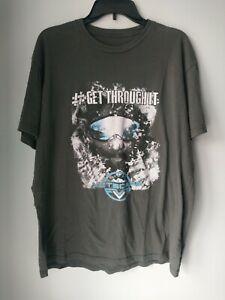 Details about Nine Line Apparel Vetscape Gray T-shirt #Get through it Men's  XL