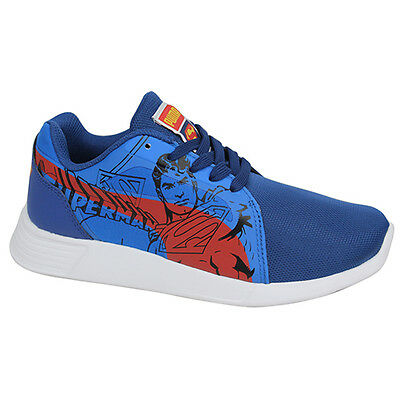 Puma ST Trainer Evo Superman JR Lace Up Blue Trainers 362240