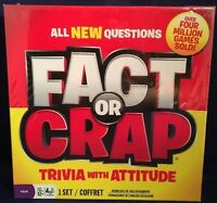 Fact Or Crap Game Trivia With Attitude12 & Up 2011 Girls Boys Fun Spinmaster