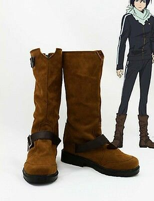 Noragami Yato Cosplay Costume Boots Boot Shoes Shoe