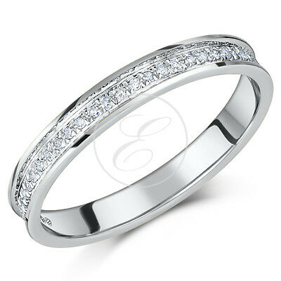 9ct White Gold Diamond Eternity Ring 0.15ct,Quarter Carat,Third Carat,Half Carat