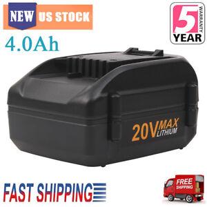 20V-4-0Ah-Li-ion-For-WORX-WA3520-WA3525-MAX-Lithium-Battery-WG155s-WG251s-WG255