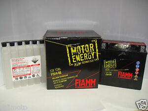 FTX9-BS FTX9BS BATTERIA FIAMM MOTOR ENERGY 12V 8 Ah MOTO SCOOTER YTX9BS CBTX9BS
