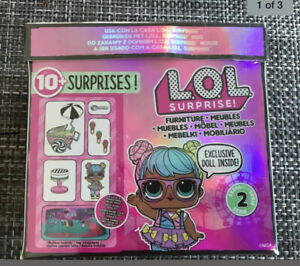 MGA Entertainment L.O.L Surprise Furniture Ice Cream Pop-Up with Bon Bon