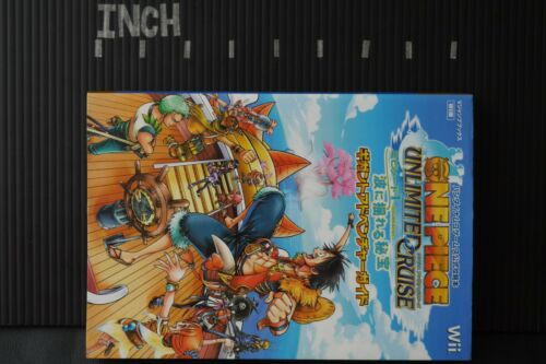 JAPAN One Piece Unlimited Cruise Episode 1 Gigant Adventure Guide Book