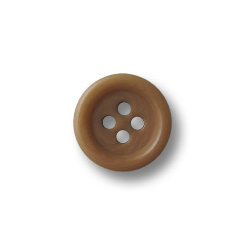 2652br-15 10 pequeños marrón claro gemaserte cuatro agujero steinnuss botones