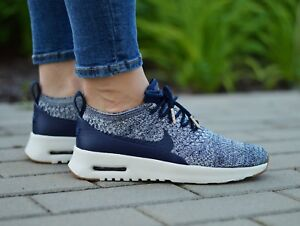 Women Nike Air Max Thea Ultra Flyknit Lifestyle Shoes 881175 401