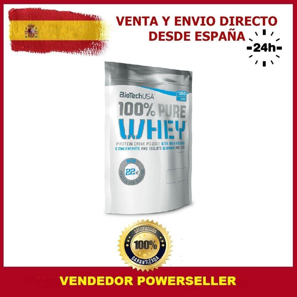 PROTEINAS 100 % PURE WHEY 1 KG. Sabor - BIOTECHUSA Sabor KG. CHOCOLATE 4c6b77