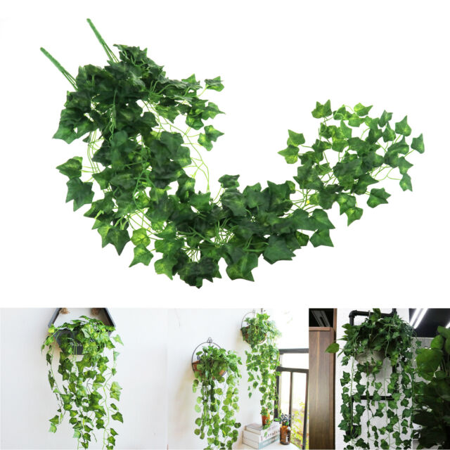 "6 Maple Ivy 30/"" Artificial Hanging Silk Plant  Tree 180"