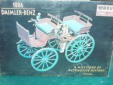 MINICRAFT1886 DAIMLER-BENZ PLASTIC MODEL KIT 1/16 SKILL LEVEL 2