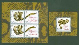 Îles Turques + Caicos 2013 Année Du Serpent-snake Year-zodiac 1918-19 + Bloc 147