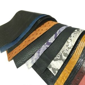 Genuine-Real-Leather-Fabric-First-Layer-Cowhide-Hide-Cut-Crafts-Scrap-Emboss-Sew