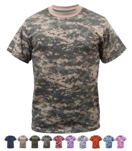 Image is loading Digital-Camo-Tactical-T-Shirt-Camouflage-Military-Tee- c35fda8af4d