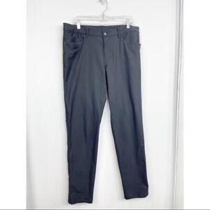 Lululemon Men's ABC Pant Classic Black 36x32 Athletic