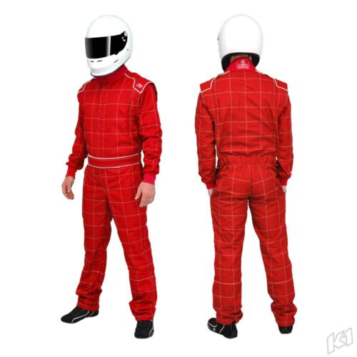 K1 First Gen Level 1 Kart Suit Red Size S
