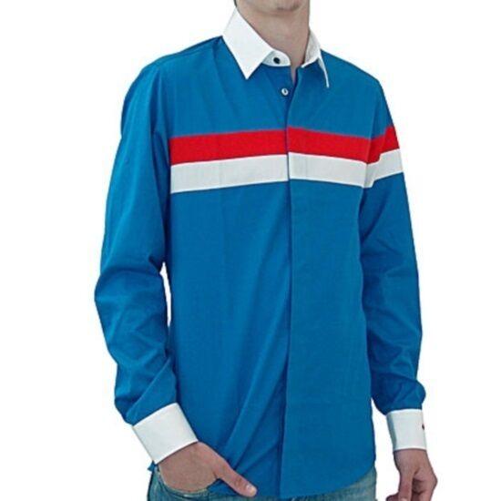 JC de Castelbajac camicia righe felix, striped shirt felix