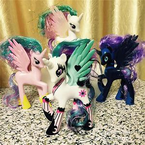 new my little pony mein kleines pony pferd serie sammlung princess celestia luna ebay. Black Bedroom Furniture Sets. Home Design Ideas