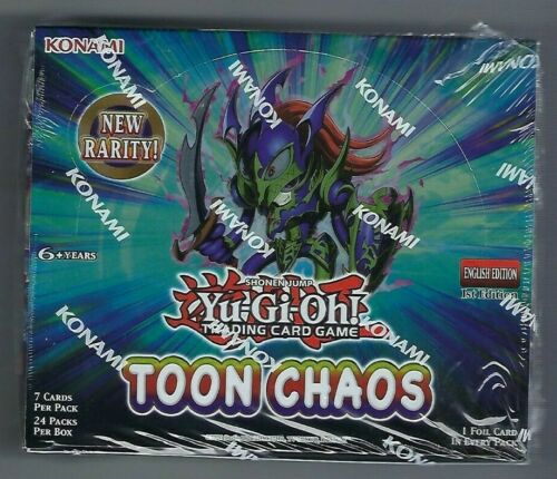 Sealed Yu-Gi-Oh Toon Chaos 1st Edition Booster Box New