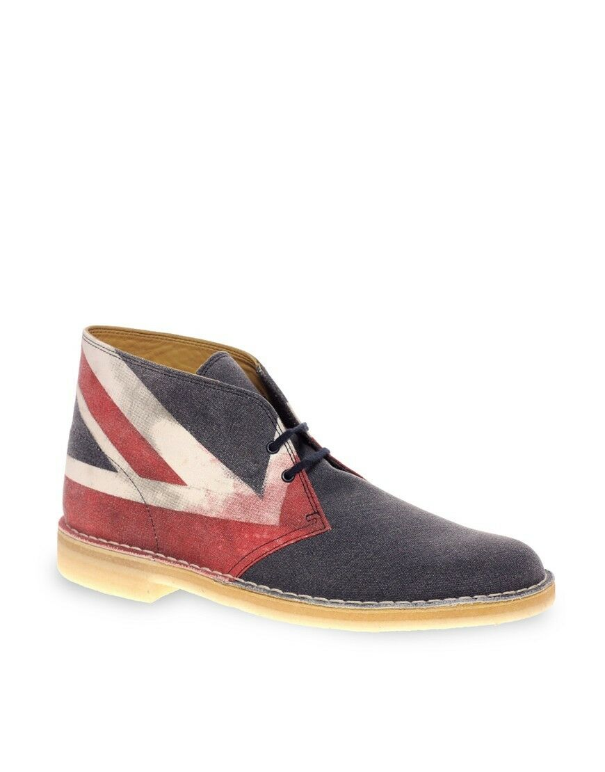 Clarks Original  Edition Desert Stiefel  Limited Edition   Union Jack  UK 9 F 1051ce