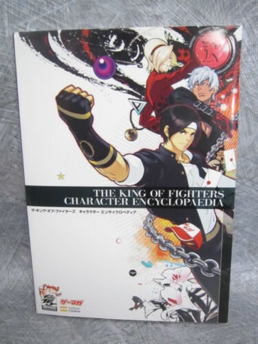 KING OF FIGHTERS CHARACTER ENCYCLOPEDIA 15th Anniv Art Illustration Book SB88*