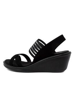 Details about New Skechers 31597 Rumblers Solar Bur Womens Shoes Sandals Heeled