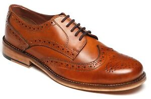 Mens-Formal-Shoes-Leather-Lace-Up-Smart-Wedding-Dress-Brogues-Size