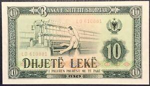 ALBANIE-10-LEKE-1976-UNC