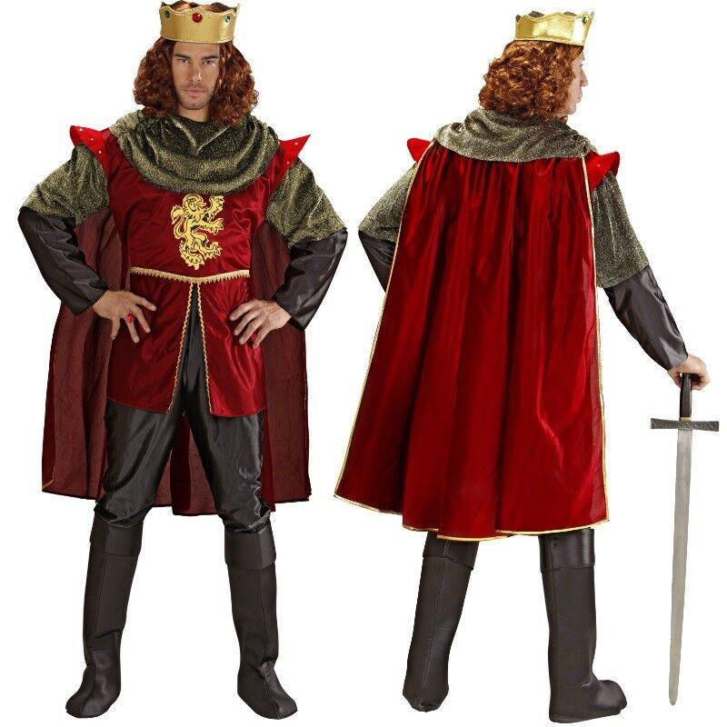 Kostüm König Gr. XL Hemd Hose Umhang Schuhcover und Krone - Widmann     | Erste Qualität  | Die Königin Der Qualität  | Genial Und Praktisch  | Niedrige Kosten  | Elegant und feierlich