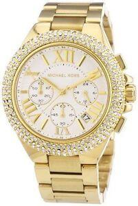 Michael Kors MK5756 Women's Camille Gold Tone Bracelet Watch