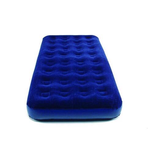 190x98 cm Single Luftmatratze Gästematratze blau Happy People 78005 Gästebett