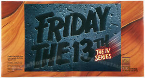 FRIDAY THE 13th: THE SERIES__Orig. 1987 Trade AD promo / poster__LOUISE ROBEY_TV