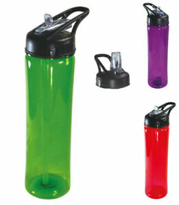 100-BPA-Free-Tumbler-Sports-Bottles-Mug-w-Lid-Flip-Open-Straw-Drink-Water-25oz