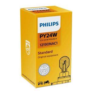 Philips-Standard-PY24W-Halogen-Car-Front-Indicator-Bulb-12190NAC1-Single