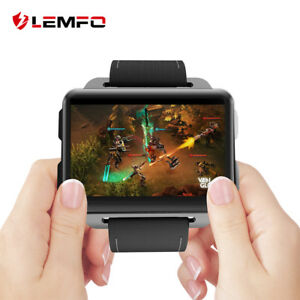 LEMFO-LEM4-Pro-2018-Smart-Watch-Phone-3G-WIFI-16GB-GPS-Handy-Uhr-fuer-Android-IOS
