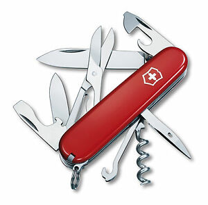 Victorinox Swiss Army Knife Climber Red Free Shipping