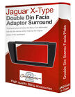 Jaguar X Type stereo radio Facia Fascia adapter panel plate trim CD surround