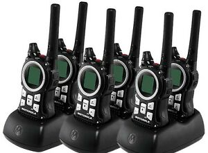 6-Motorola-MR350-MR560-FRS-GMRS-2-WAY-Radio-Walkie-Talkie-Ni-MH-Weather-VOX-QT