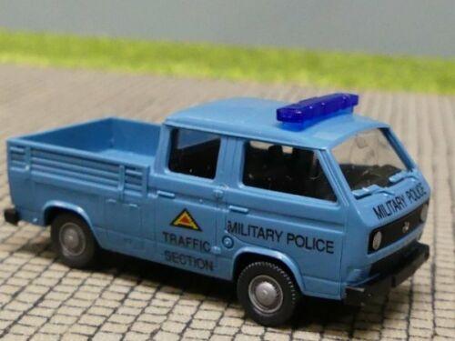 1//87 Roco VW T3 Doppelkabine Military POLICE