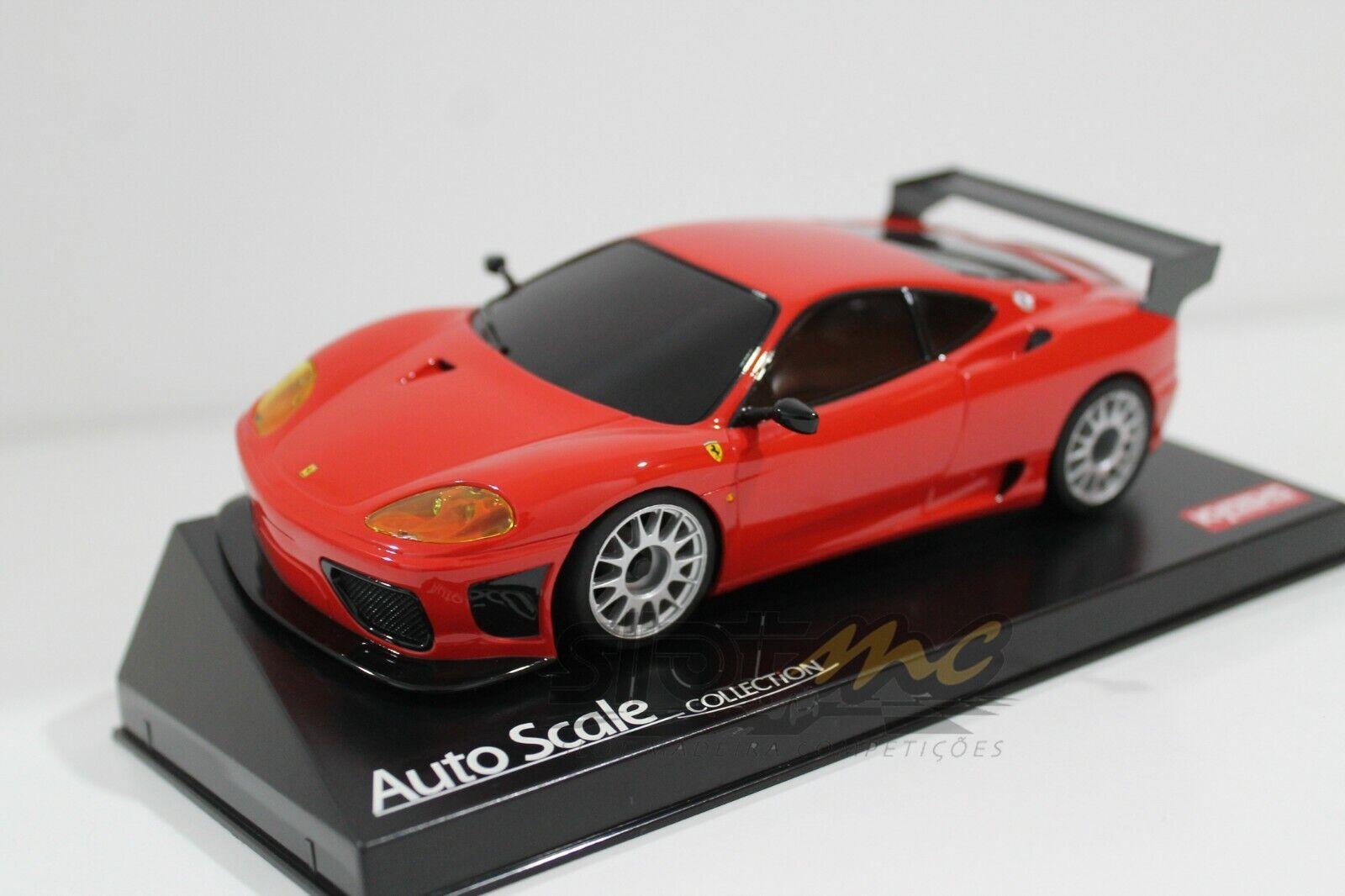 Kyosho Mini-Z MZP337R Ferrari 360 GTC Rojo versión 1 27 cuerpo  NEW