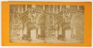 Venezia-Palais-Ducale-Italia-Foto-Stereo-PL55L4n-Vintage-Albumina-c1880