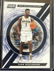 2019-20-Panini-Player-Of-The-Day-Zion-Williamson-Rookie-Card-100