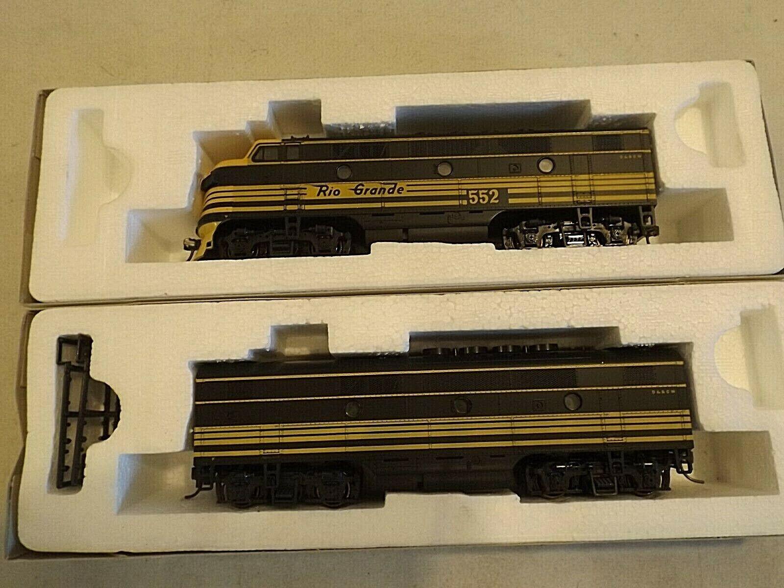 Ho Stewart pasatiempos D&RGW F3 A + B Motores Diesel En Caja Original