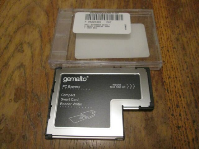 GEMALTO PC EXPRESS CARD READER DRIVERS FOR PC