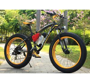 350W-36V-10-4AH-Electric-Bike-Cruiser-fat-Bike-Ebike-26-039-039-4-0Tire-LCD-RT-012