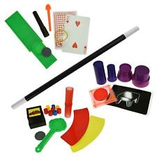 45 Tricks Magic Set Fun Family Kids Toys Magician Illusion