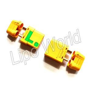 XT90-STECKER-BUCHSE-ANTI-BLITZ-FLASH-ORIGINAL-AMASS-Modellbau-Adapter-Kabel-Akku