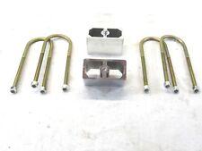 Speedway Motors Universal Lowering Block Kit 1 Inch