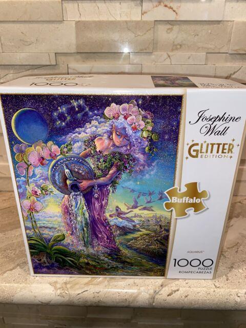 Buffalo Games Josephine Wall Aquarius Glitter 1000 piece Jigsaw Puzzle